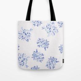 Watercolor blue agapanthus Tote Bag