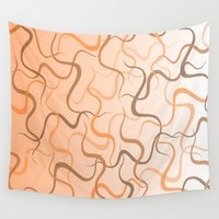 wave Wall Tapestries featuring Wave by ArtSchool