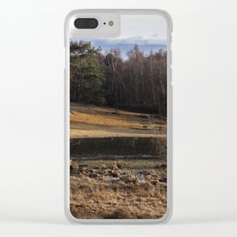 Horsell Common Clear iPhone Case