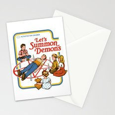 LET'S SUMMON DEMONS Stationery Cards