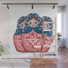 Matryoshkas Wall Mural