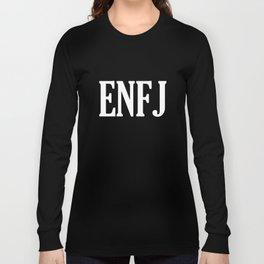 ENFJ Personality Type Long Sleeve T-shirt