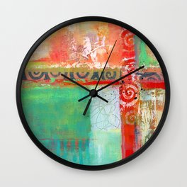 Sunlit Journey Wall Clock