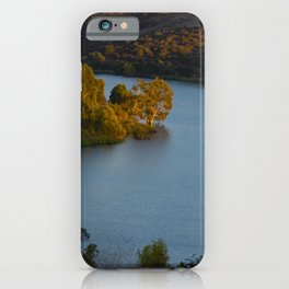 Dusk at the Lake iPhone Case