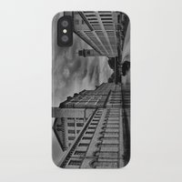 regina mills iPhone & iPod Cases featuring Yorkshire Mills by Sandra Cockayne Photography