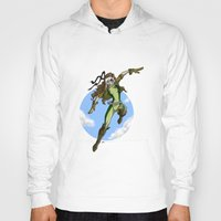 moulin rouge Hoodies featuring rouge by batuzer