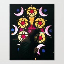 5 of Pentacles Canvas Print