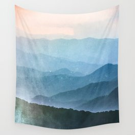 Great Smoky Mountain National Park Sunset Layers - Nature Photography Wall Tapestry