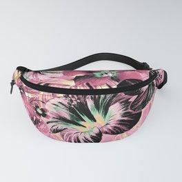 Vintage Pink Aloha Fanny Pack