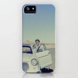 Desert Driver iPhone Case