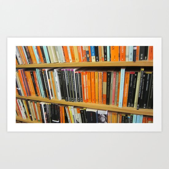 Shelves Art Print