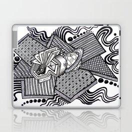 Dual worlds Laptop & iPad Skin