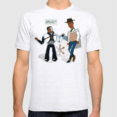 Annie's Toys Mens Fitted Tee Ash Grey SMALL