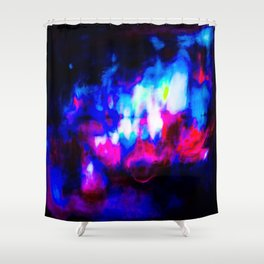 Luminous Horizon Shower Curtain