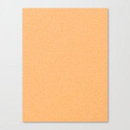 Dense Melange - White and Orange Canvas Print