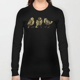 24-Karat Goldfinches Long Sleeve T-shirt