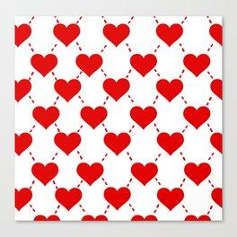 Designer Hearts Canvas Print