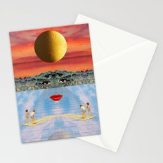 Eyes, lips & dreams Stationery Cards