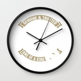 Genuine & Trusted Lawyer One Of A Kind Wall Clock