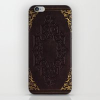 book cover iPhone & iPod Skins featuring BOOK COVER by ED design for fun