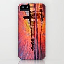 Sunset Huntington Beach Pier CA   iPhone Case