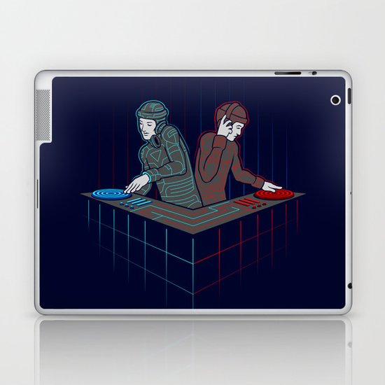 Techno-Tron-ic Laptop & iPad Skin