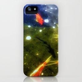 Taking A Swim iPhone Case