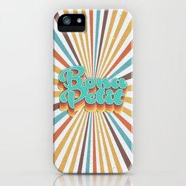 Bona Petit iPhone Case