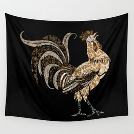Le Coq Gaulois (The Gallic Rooster) Wall Tapestry