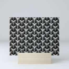 GS Geometric Abstrac 04A4A S6 Mini Art Print