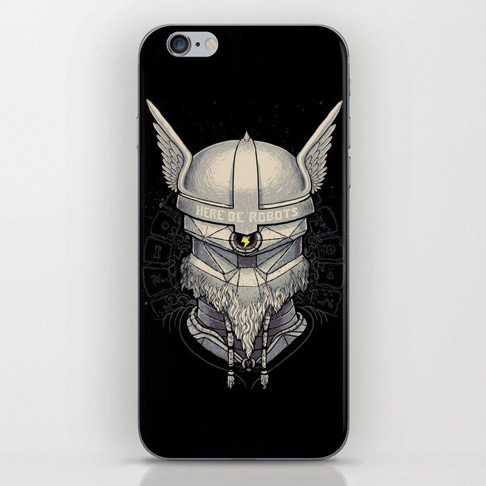 Viking robot iPhone Skin