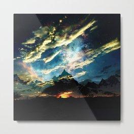 Mount Mystic Metal Print