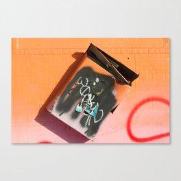 Mailbox Art Canvas Print