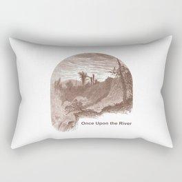 Once Upon the River (Ticonderoga Falls) Rectangular Pillow