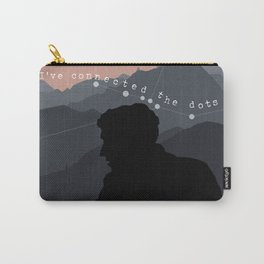 """""""Ive connected the dots"""" Shane Madej Graphic Carry-All Pouch"""