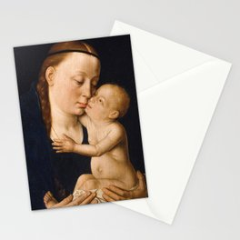 Virgin and Child by Dieric Bouts, 15th Century Stationery Cards