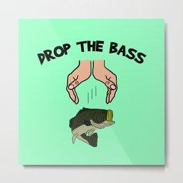 Drop The Bass Metal Print