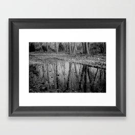 Leave Leaf Framed Art Print
