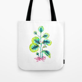 Peperomia Tote Bag