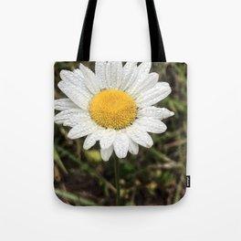 An English Daisy in Oregon Tote Bag
