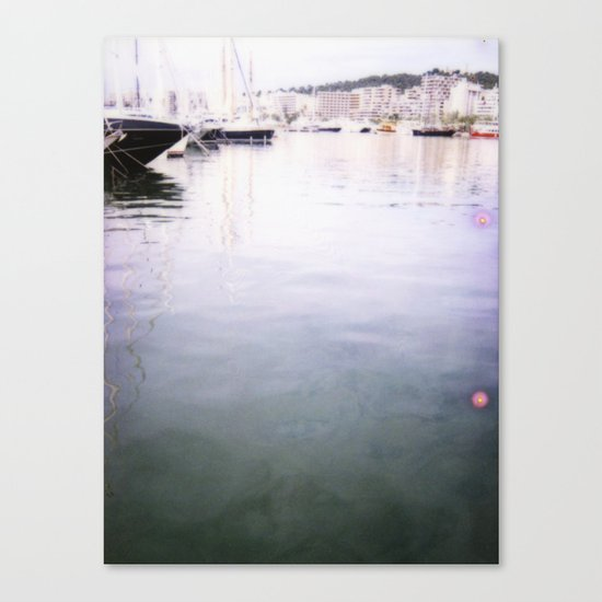 Palma Harbour Canvas Print