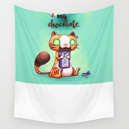 Chocolate addict Wall Tapestry