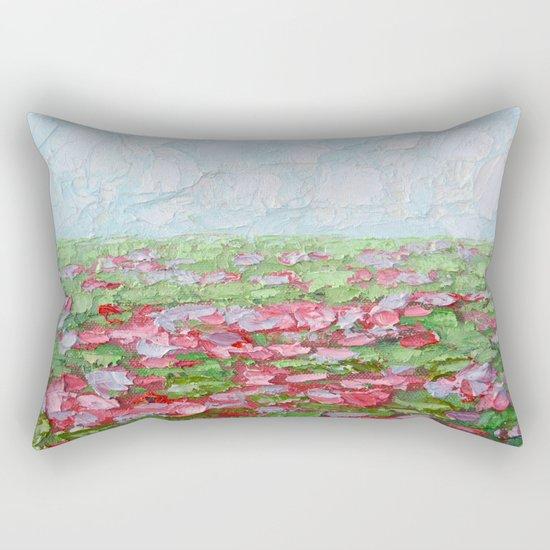 September Fields No. 2 Rectangular Pillow