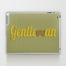 Gentleman (Short Mustache) Laptop & iPad Skin