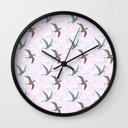 SKY DINOS Wall Clock