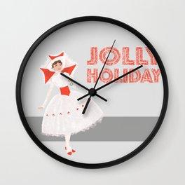 Jolly Holiday Wall Clock