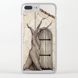 Merchant's Door Clear iPhone Case
