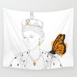 Two Monarchs Wall Tapestry
