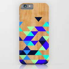 Geometric Blue Polygons Slim Case iPhone 6