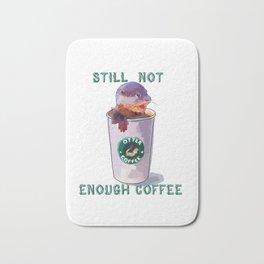 Otter Coffee #2 Still Not Enough Coffee Bath Mat